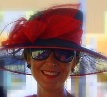 Red Hat at the races by myraj