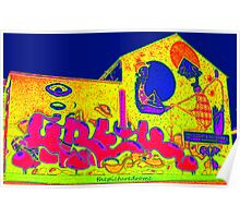 Pop ART Mural Poster