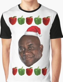 The Ainsley Harriott Christmas Jumper Graphic T-Shirt