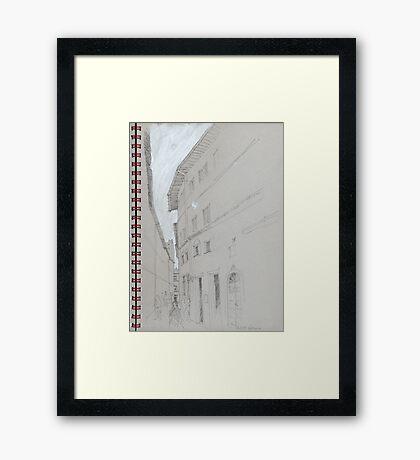 Volterra1 Framed Print