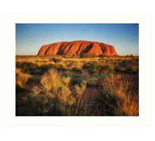 Ayers Rock (Uluru) Art Print