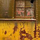 Parlor Car Window by Larry Costales