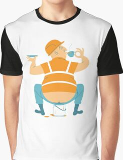 Builder's Tea Graphic T-Shirt