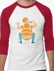 Builder's Tea Men's Baseball ¾ T-Shirt