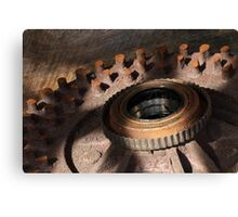 Rusted Drum Canvas Print