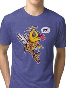 Angelic Fish Tri-blend T-Shirt