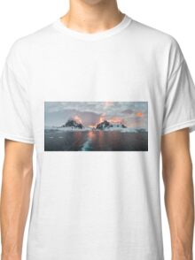 Sunset at Lemaire Channel Classic T-Shirt