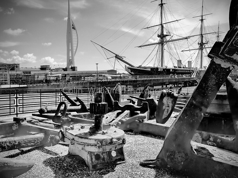 Anchors Away ! by Colin  Williams Photography