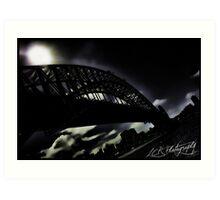 Gotham Harbour Art Print
