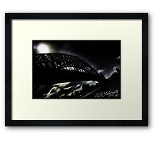 Gotham Harbour Framed Print