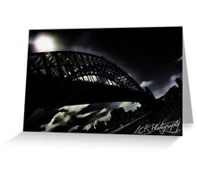 Gotham Harbour Greeting Card