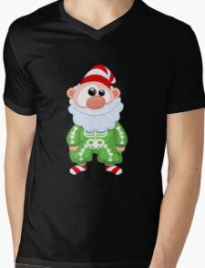 Santa Claus Mens V-Neck T-Shirt