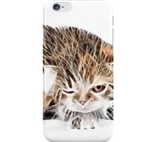 wild nature - pussy #9 iPhone Case/Skin