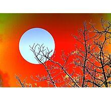 Imaginary moon Photographic Print