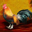Little Red Rooster by artbyjames
