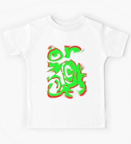 Random swirly Kids Tee
