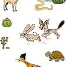 Palm Springs Critters by Dave Stephens