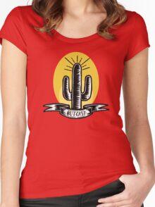 LANDMARK Women's Fitted Scoop T-Shirt
