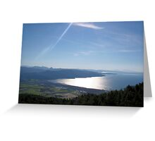 Blue Hues and Beautiful Bays Greeting Card