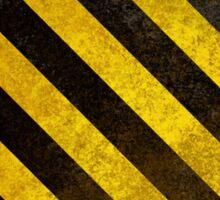 Hazard High Res Phone Case Sticker