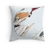 Policy Outline Throw Pillow