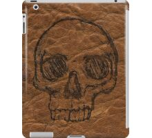 Leather & Skull iPad Case/Skin
