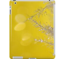 Yellow Sparkles iPad Case/Skin