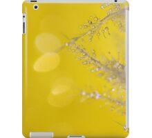 Yellow Sparkles iPad Case/Skin