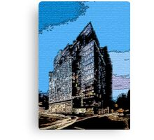 Urban Chaos Canvas Print