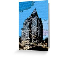 Urban Chaos Greeting Card