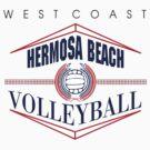 Hermosa Beach California Volleyball by SportsT-Shirts