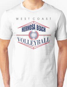Hermosa Beach California Volleyball T-Shirt
