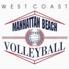 Manhattan Beach California Volleyball by SportsT-Shirts