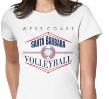 Santa Barbara California Volleyball Womens Fitted T-Shirt