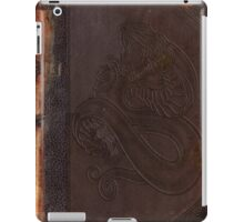 Old book cover with snake iPad Case/Skin