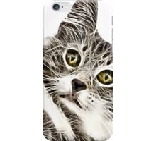Wild nature - pussy #12 iPhone Case/Skin