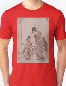 Onagadori o motsu onna to kamuro 001 T-Shirt