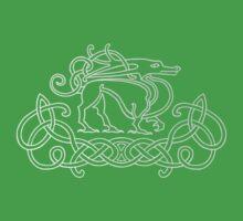 Pictish Dragon Baby Tee