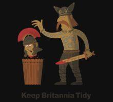 Keep Britannia Tidy Baby Tee
