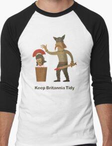 Keep Britannia Tidy Men's Baseball ¾ T-Shirt
