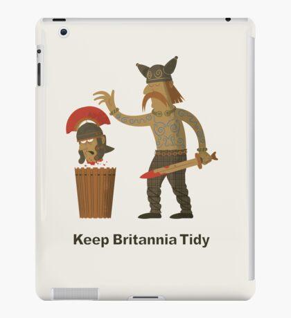 Keep Britannia Tidy iPad Case/Skin