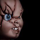 Chucky doll by Linda  Morrison