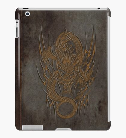 Old Book of Dragon iPad Case/Skin