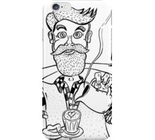 Bearded Barista of Balaclava iPhone Case/Skin