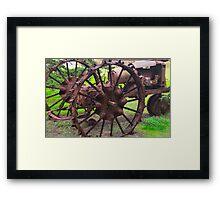 Old Iron Detail 2 Framed Print