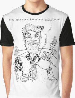 Bearded Barista of Balaclava Graphic T-Shirt