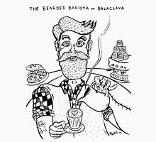 Bearded Barista of Balaclava Unisex T-Shirt