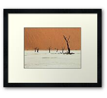 We are the scatterings of Africa  Framed Print