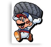 Mario Motors Mario F1 Canvas Print