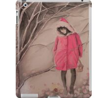 Red hat- Cappuccetto rosso iPad Case/Skin